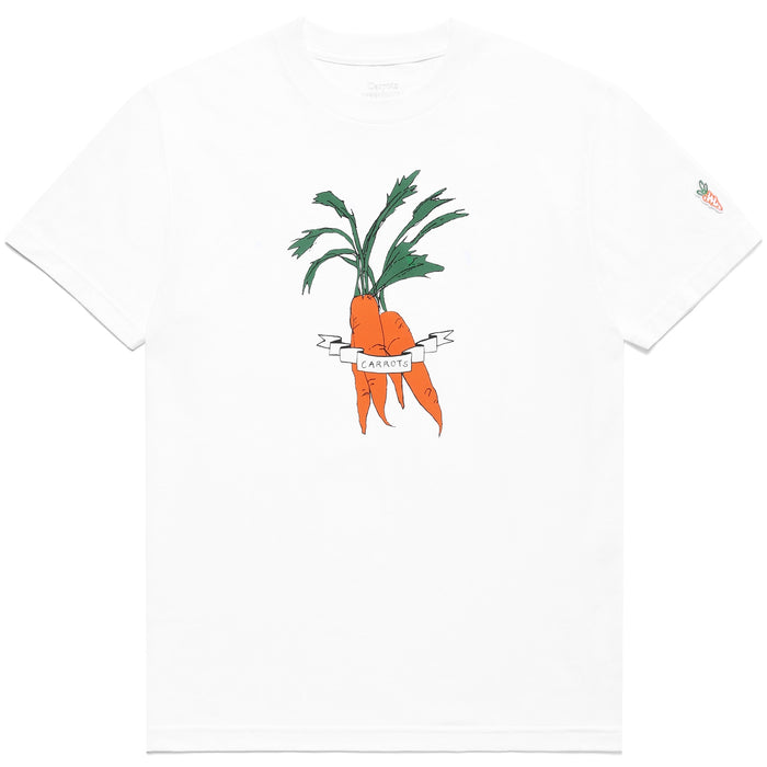 CARROTS X DEER DANA CARROT BUNDLE T-SHIRT - WHITE