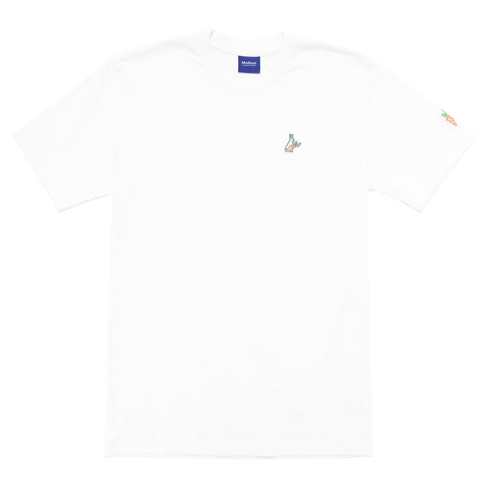 FXXKING CARROTS ONE HIT T-SHIRT - WHITE