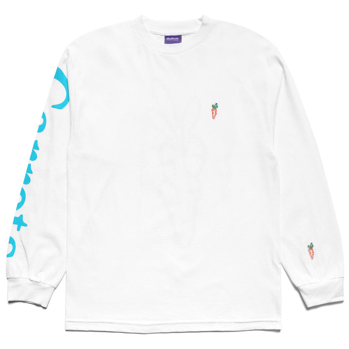MCNAIRY LOGO LONG SLEEVE - WHITE