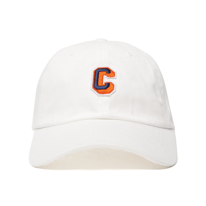 CARROTS UNIVERSITY BALL CAP - WHITE