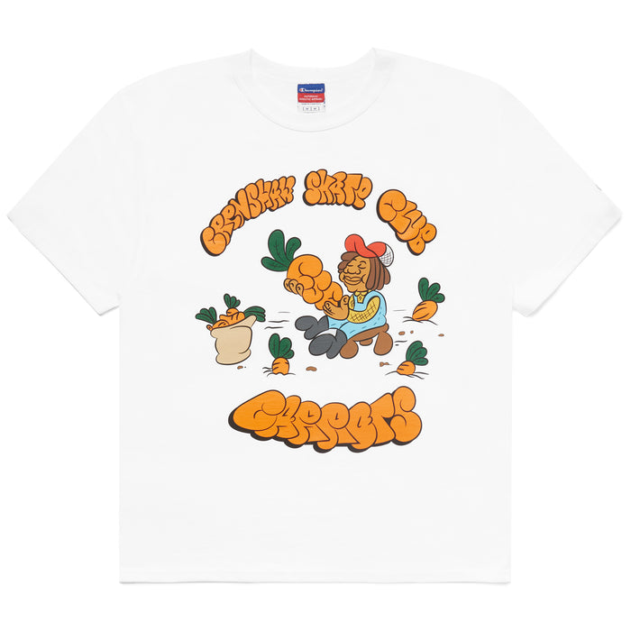 CSC CARROT FARM TEE - WHITE