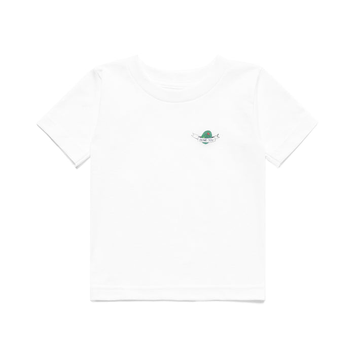 CARROTS X DEER DANA OLIVE YOU KID'S TEE - WHITE