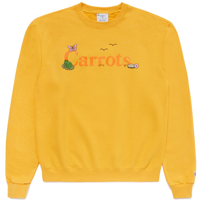 COKANE RABBIT CREWNECK - YELLOW