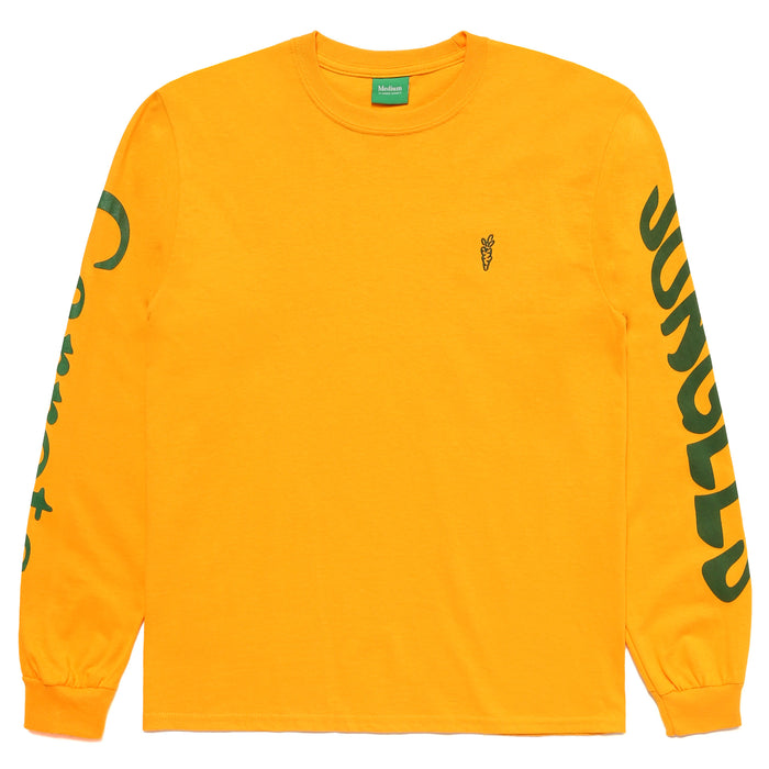 LOGO LONG SLEEVE - GOLD