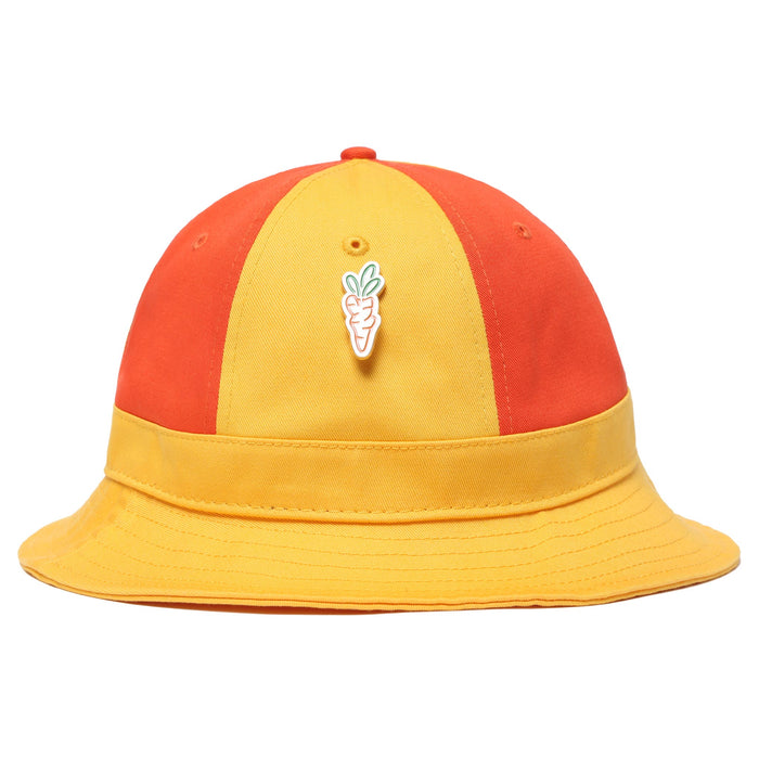 CARROTS TWO TONE BUCKET HAT - YELLOW