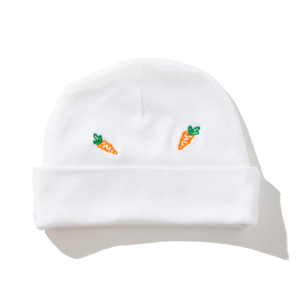 ea511b05ea5 Previous. ALL OVER BABY CARROTS BEANIE - WHITE. ALL OVER BABY CARROTS BEANIE  - WHITE