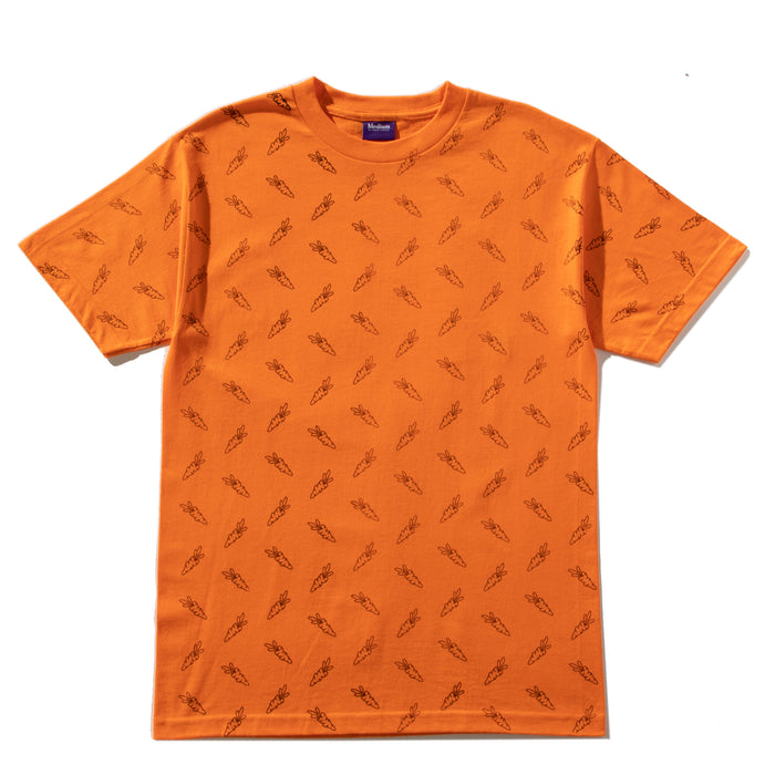 ALL OVER CARROTS TEE - CARROT