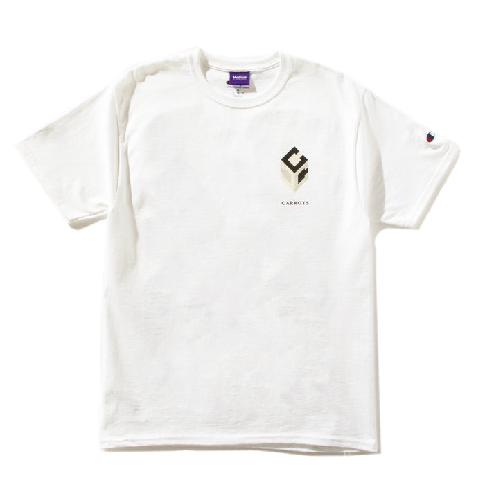 "CARROTS ""GUCCIO""  CHAMPION TEE - WHITE"