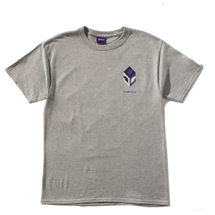 "CARROTS ""GUCCIO"" CHAMPION TEE - HEATHER GREY"