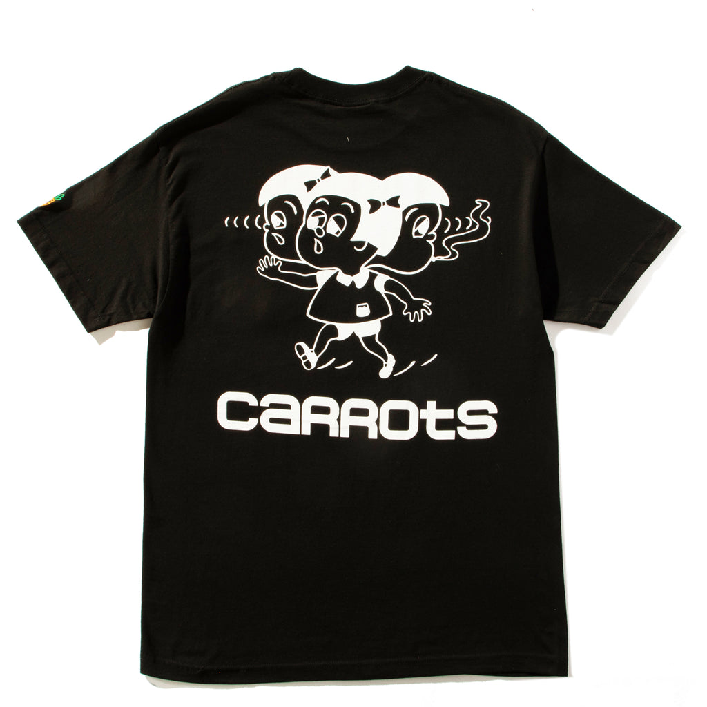"CARROTS ""CONJOINED"" TEE - BLACK"