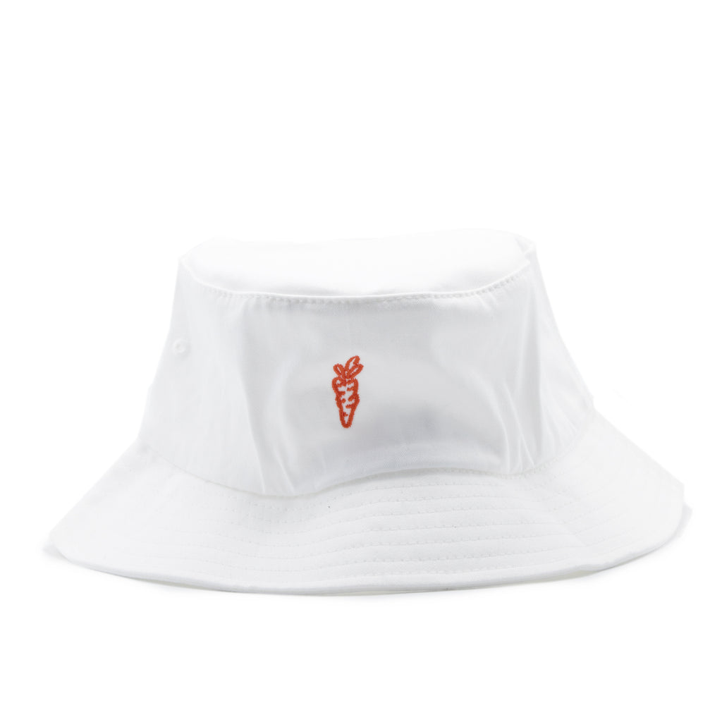 "CARROTS ""C"" BUCKET HAT - WHITE"