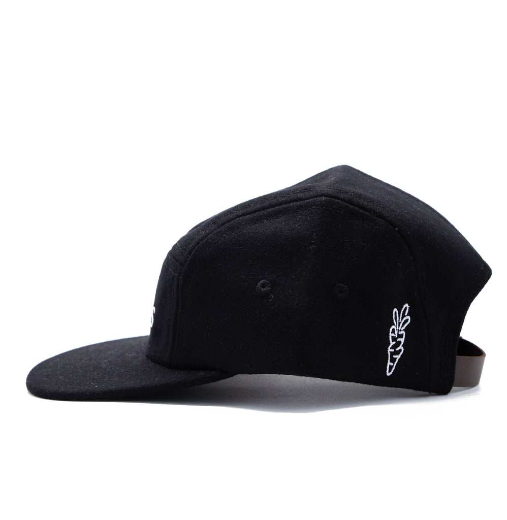 CARROTS WORDMARK EBBETS FIELD FLANNELS 5-PANEL - BLACK