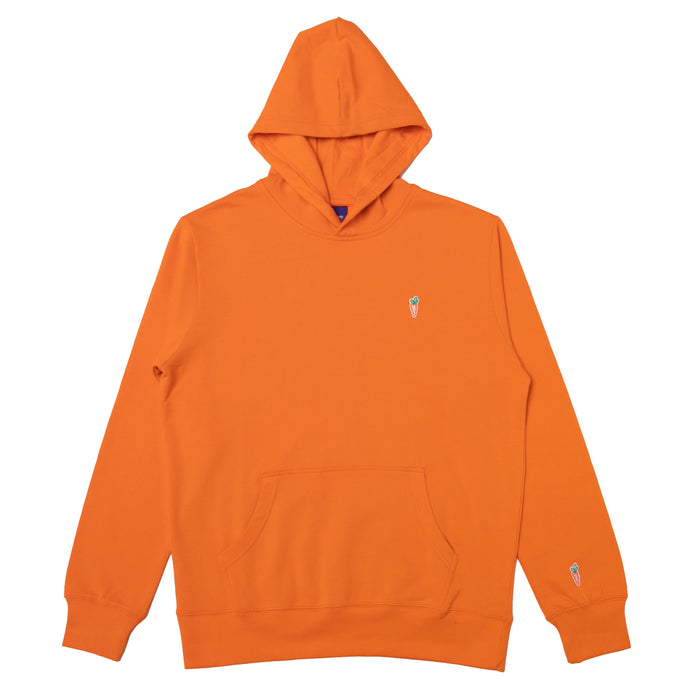ONE HIT PATCH HOODIE - ORANGE