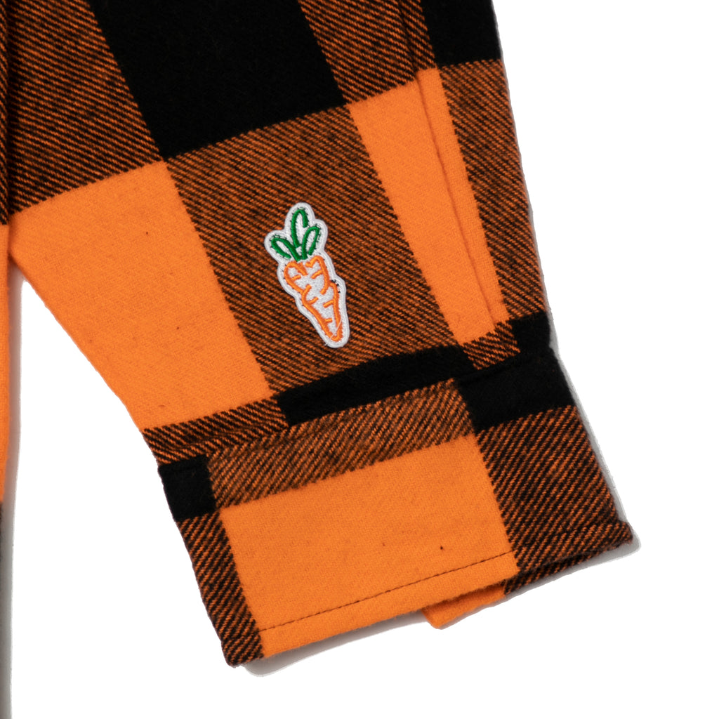 LUMBERJACK FLANNEL - ORANGE