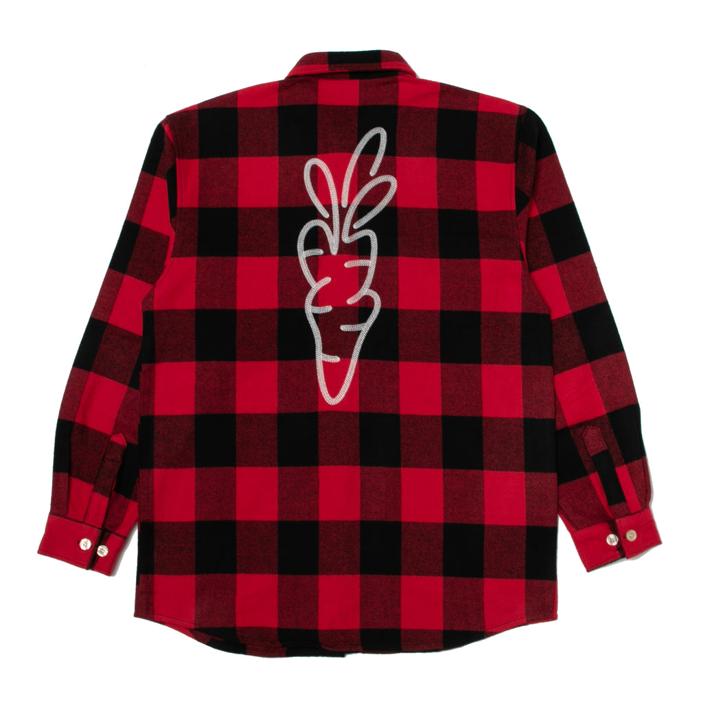 LUMBERJACK FLANNEL - RED
