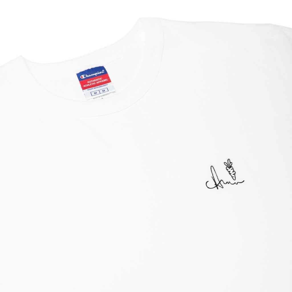 SIGNATURE ONE HIT CHAMPION TEE - WHITE