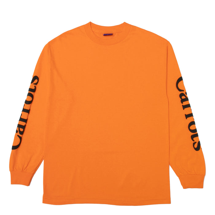 WORDMARK LONGSLEEVE - ORANGE