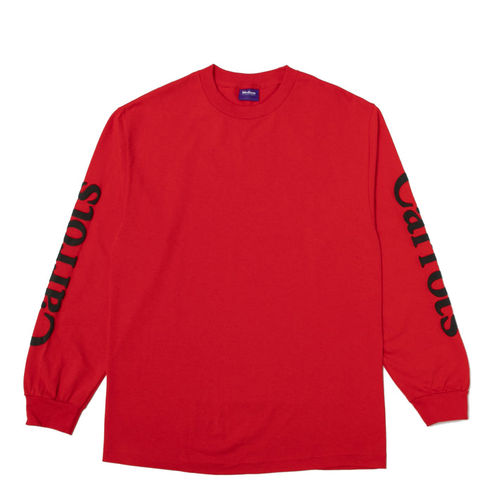 WORDMARK LONGSLEEVE - RED