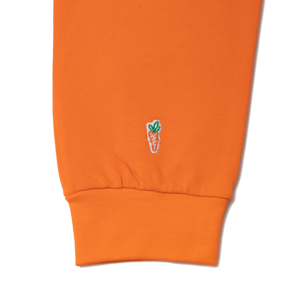CURSIVE SWEATPANTS - ORANGE