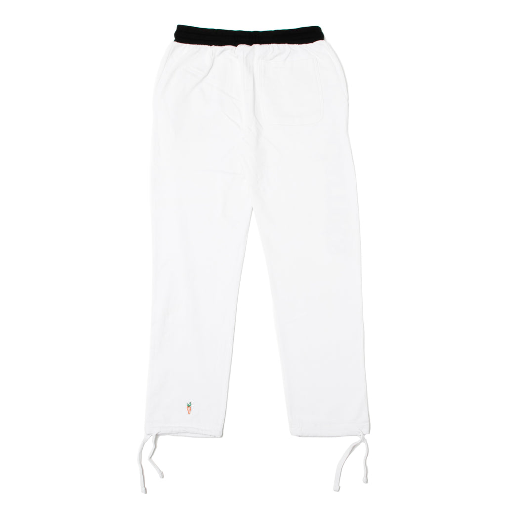 WORDMARK SWEATPANTS - WHITE