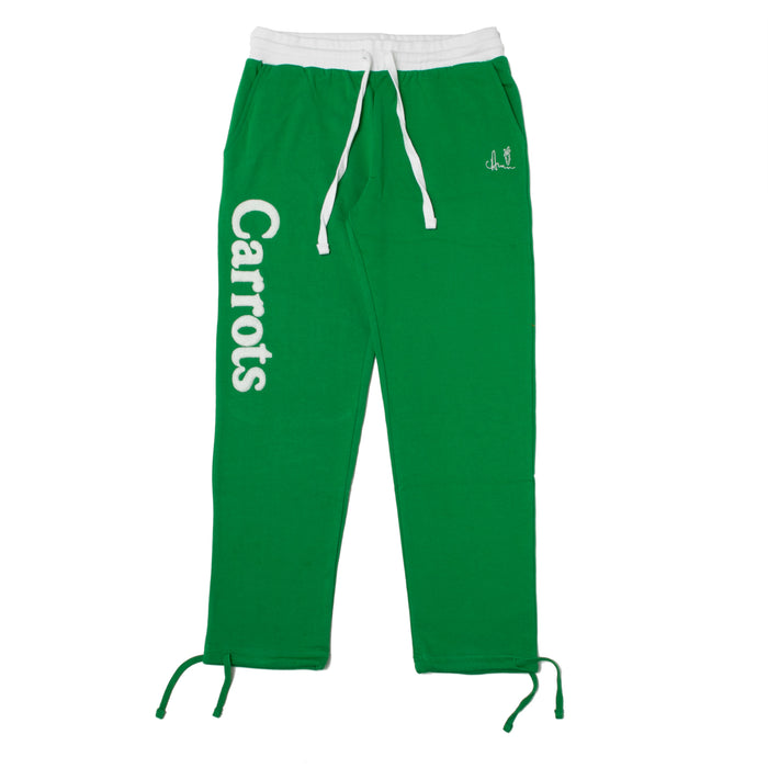WORDMARK SWEATPANTS - GREEN