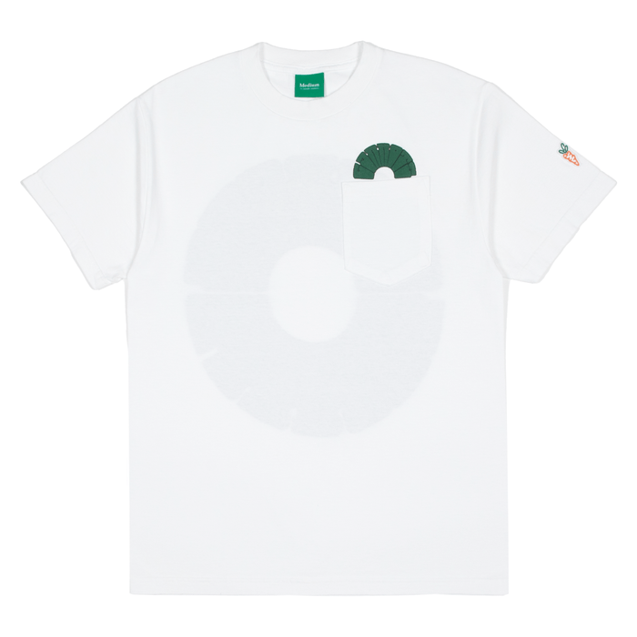 CIRCLE CARROTS T-SHIRT - WHITE