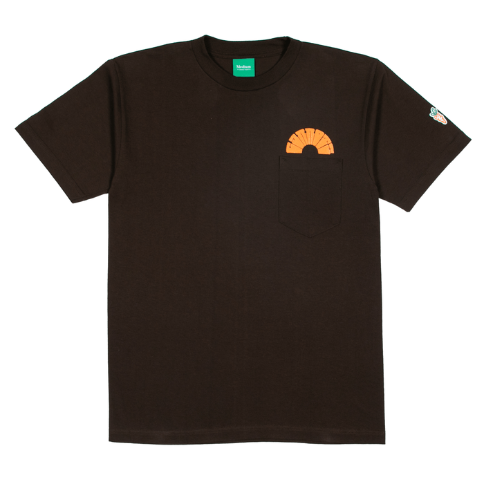 CIRCLE CARROTS T-SHIRT - BROWN