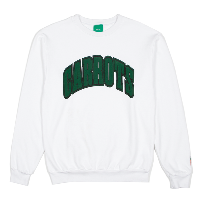 COLLEGIATE CREWNECK  - WHITE