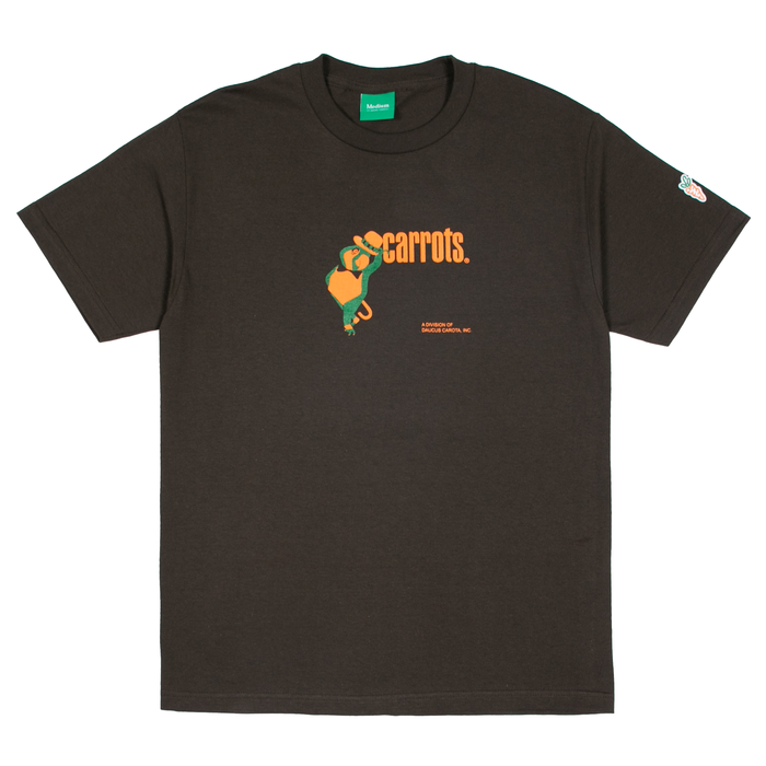 PARROTS T-SHIRT - BROWN