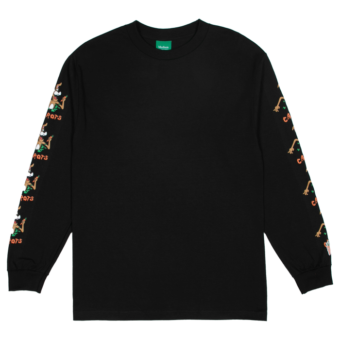 HOP OUT LONG SLEEVE - BLACK