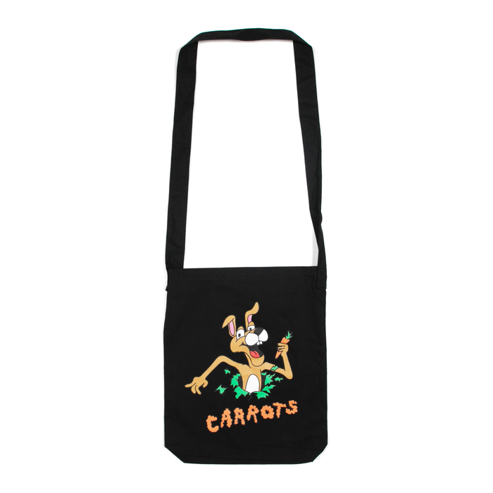 HOP OUT TOTE BAG - BLACK