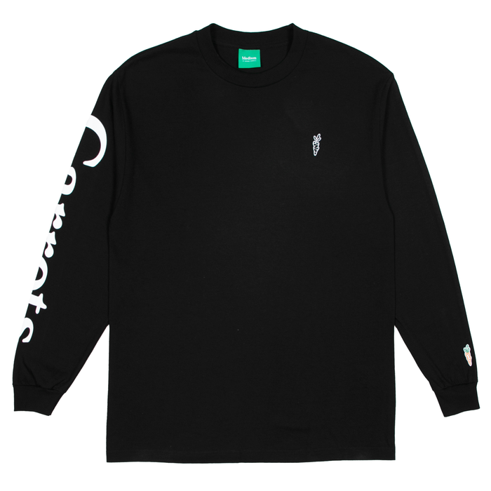 SIGNATURE CARROT LONG SLEEVE - BLACK