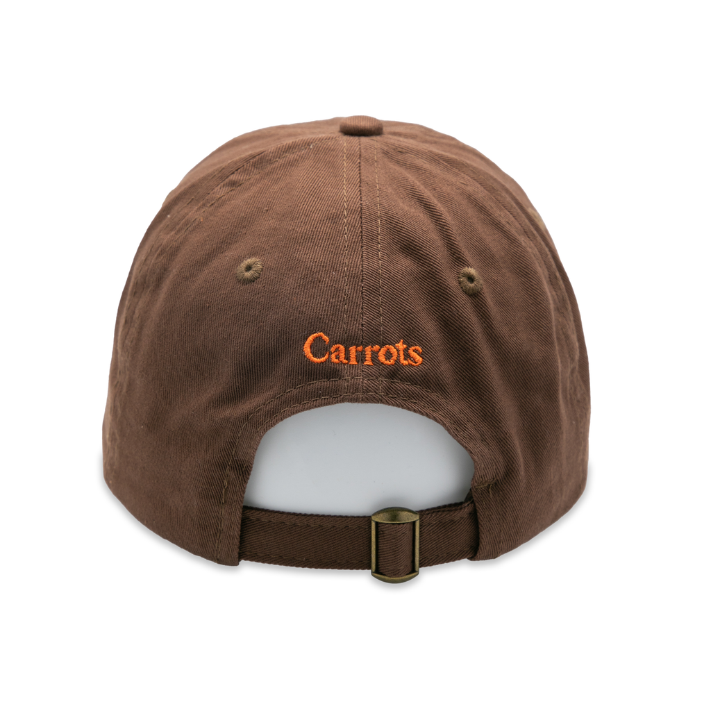 SIGNATURE CARROT DAD HAT - BROWN