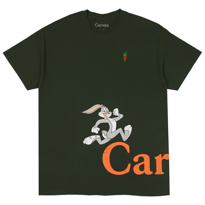 CARROTS X LOONEY TUNES RUN TEE - GREEN