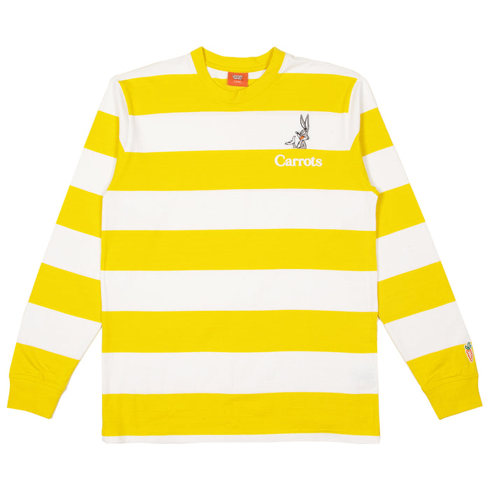 CARROTS x LOONEY TUNES BUGS BORDER LS TEE - YELLOW