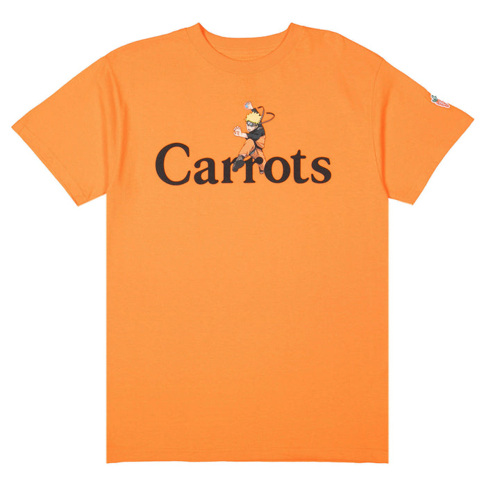 CARROTS X NARUTO FIGHTING TEE - ORANGE