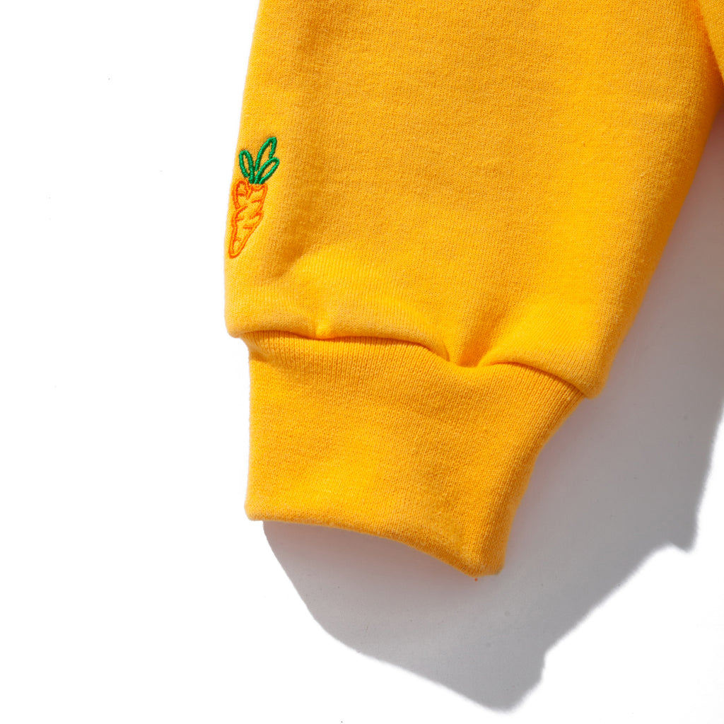 CARROTS WORDMARK CHAMPION ECO PULLOVER HOODIE - YELLOW CARROT