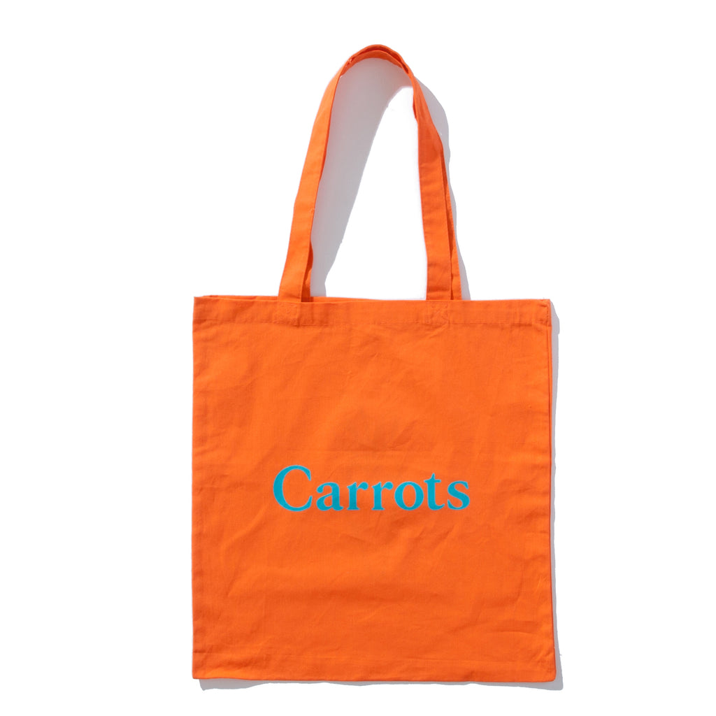 SIGNATURE CARROT TOTE BAG - CARROT