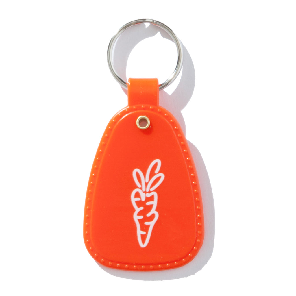 I HEART CARROTS KEYCHAIN - CARROT