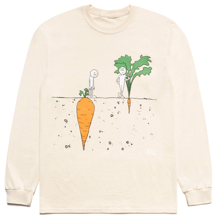 "CARROTS X KAI ""PERCEPTION"" LONGSLEEVE T-SHIRT - CREAM"