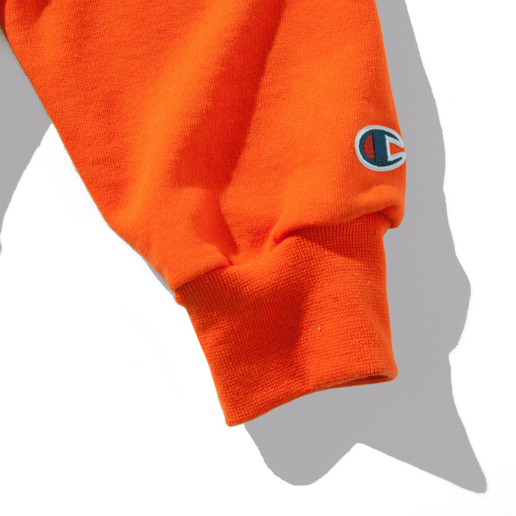 CARROTS WORDMARK CHAMPION ECO PULLOVER HOODIE - CARROT