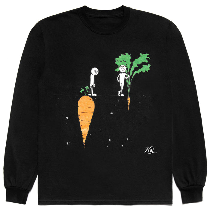 "CARROTS X KAI ""PERCEPTION"" LONGSLEEVE T-SHIRT - BLACK"