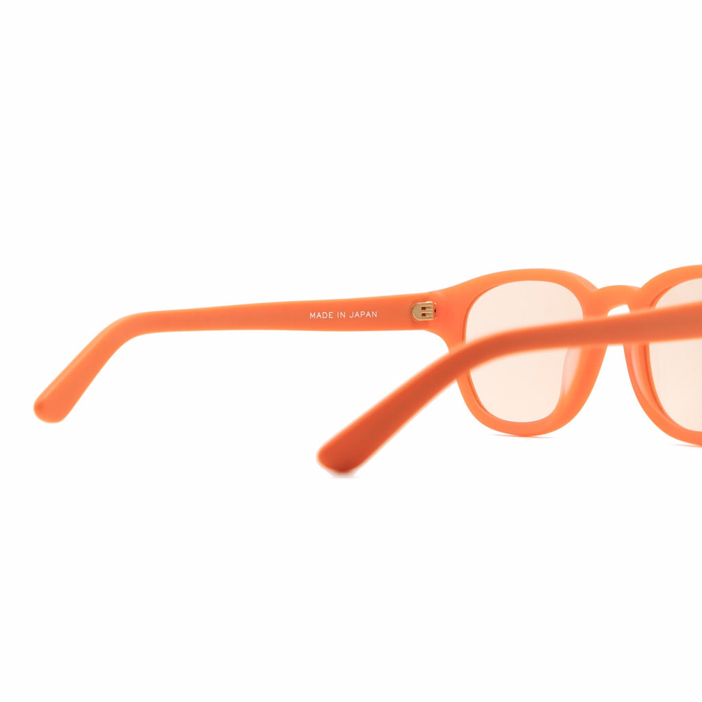 "CARROTS X INARI EYEWEAR ""BETA CAROTENE"" SUNGLASSES- CARROT"