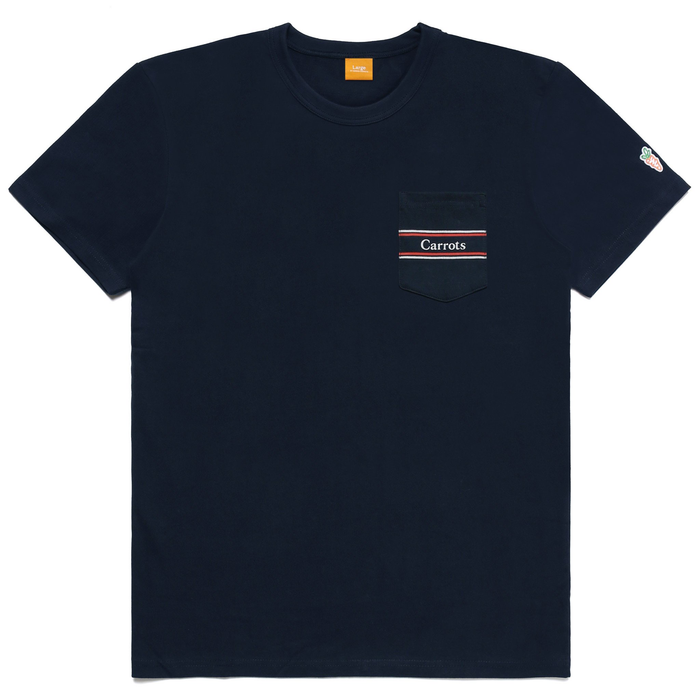 CARROTS RUGBY POCKET TEE - NAVY