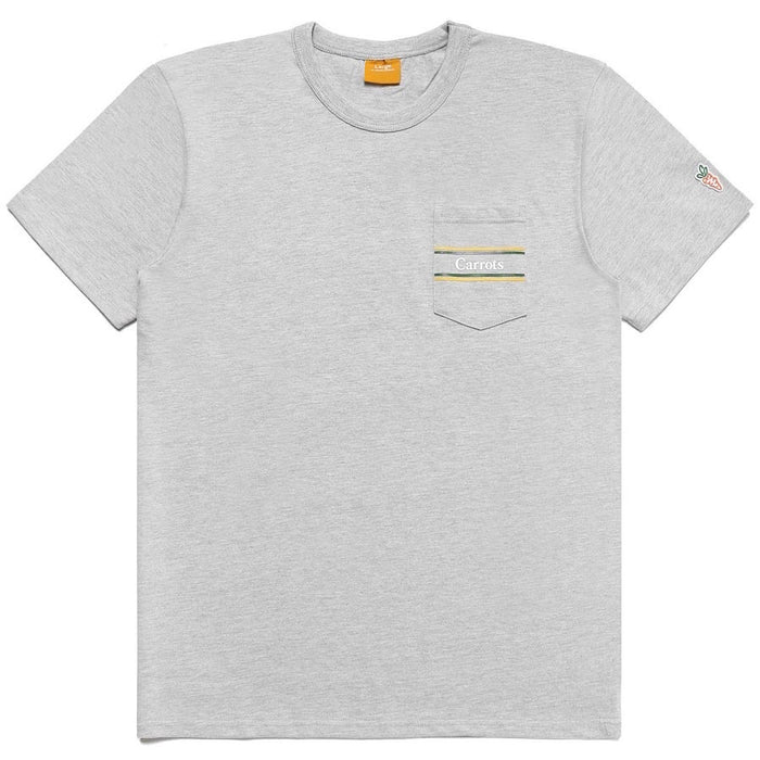 CARROTS RUGBY POCKET TEE - ATHLETIC HEATHER