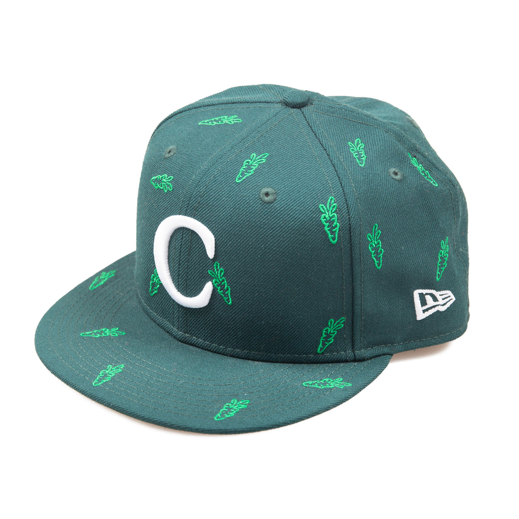 "CARROTS ""C"" NEW ERA 59/50 FITTED - FOREST GREEN"