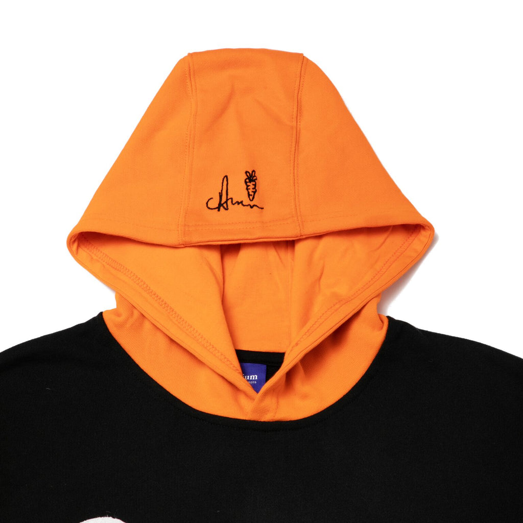 WORDMARK HOODIE - Orange/Black