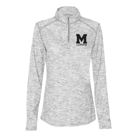 Mason Lacrosse - Badger - Blend Women's Quarter-Zip Pullover