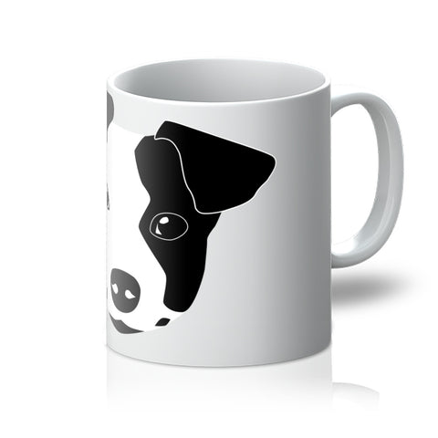 Jack Russell Left Patch Mug
