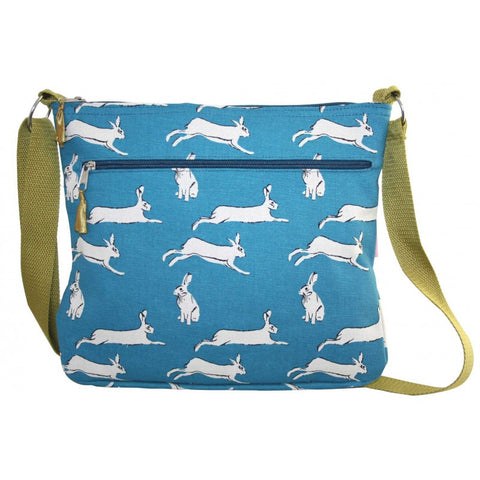 Large Messenger Bag - Hares